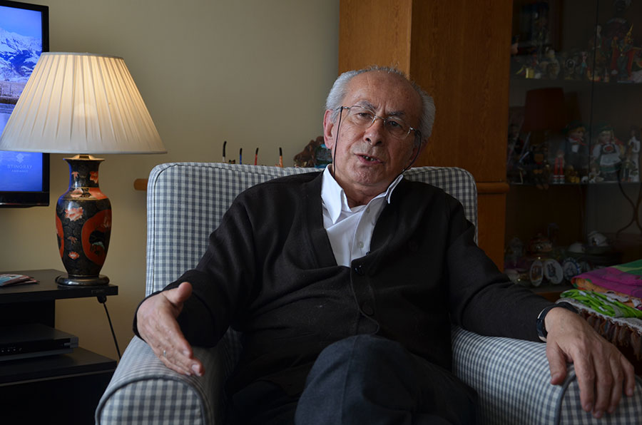 Prominent Turkish academic Fikret Başkaya detained in Ankara