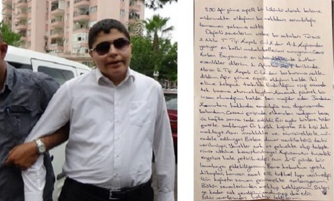Letter reveals visually impaired journalist can barely survive in prison