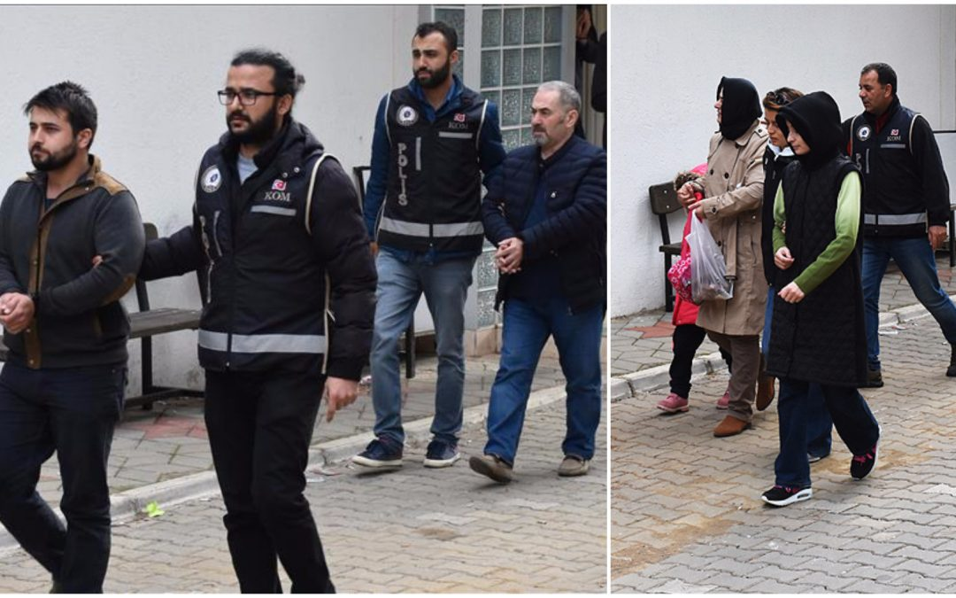 9 dismissed civil servants detained while on way to escape Turkey