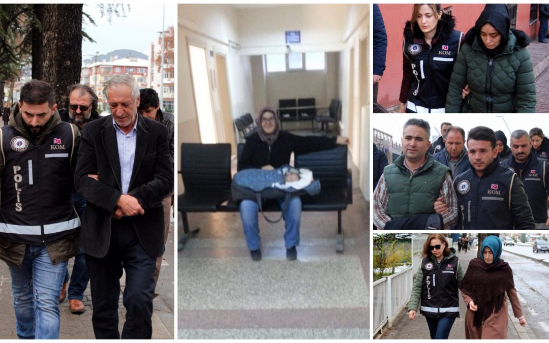 663 people detained over alleged Gülen links in past week: ministry