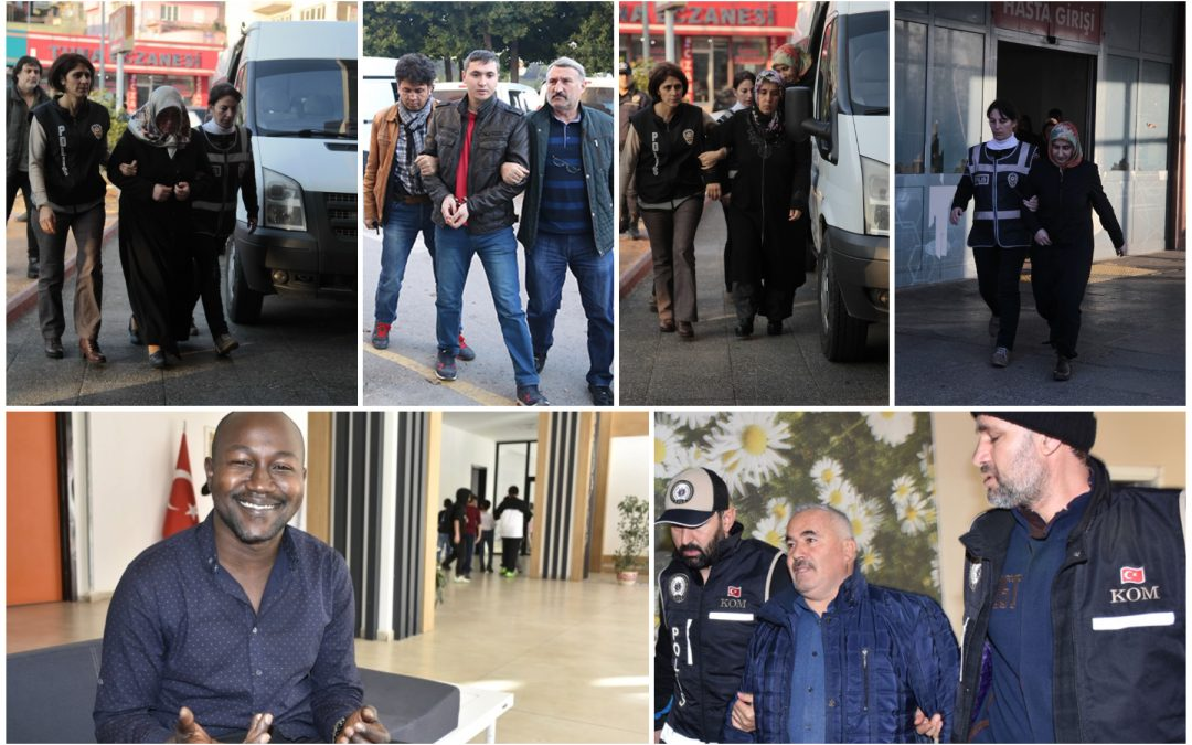 575 people detained over Gülen links in past week: ministry