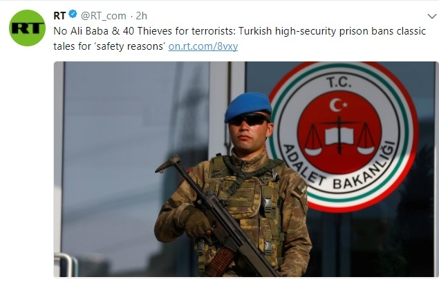 Turkey now bans Ali Baba and the Forty Thieves for 'safety reasons'
