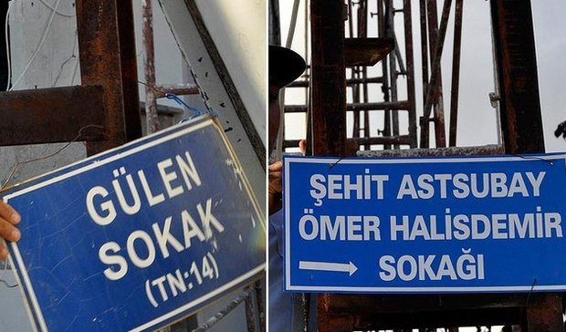 Istanbul municipality renames 192 streets to remove any Gulen links, inappropriate words
