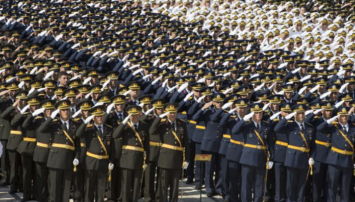 Turkey issues detention warrants for 33 military members