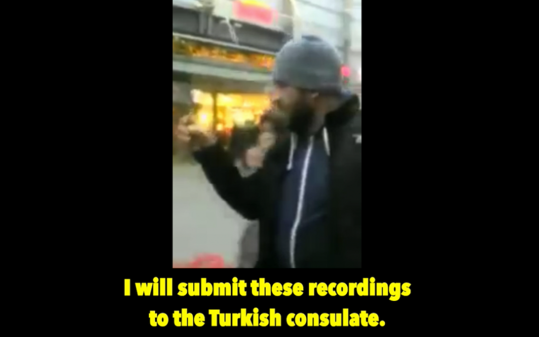[VIDEO] Turkish man attacks 'Set Children Free' demo in Germany