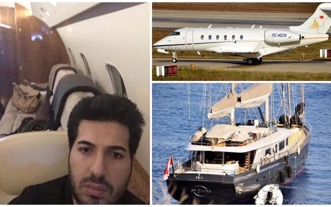 Turkey seizes USA  witness Reza Zarrab's private jet, yacht