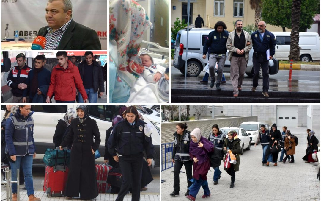 664 people detained over Gülen links in past week: ministry