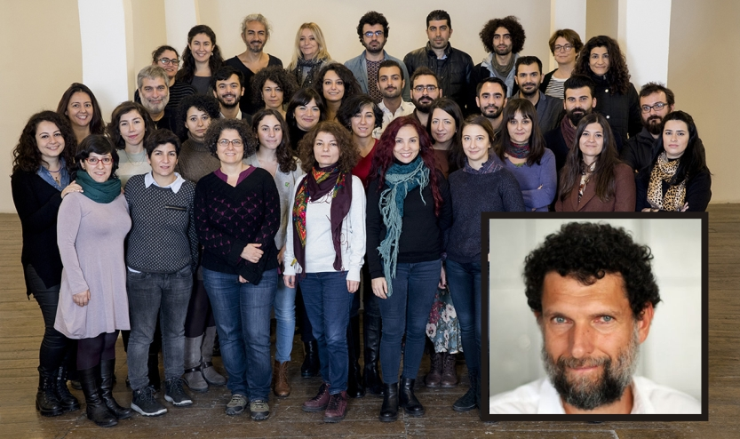 Turkish activists to jailed businessman Kavala: We feel your absence, and we miss you a lot