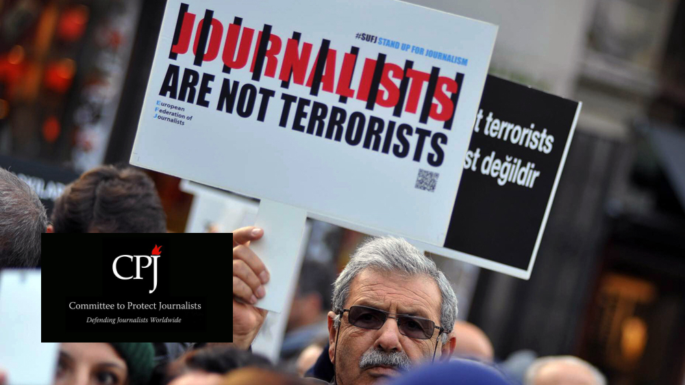 CPJ: Turkey remains worst jailer of journalists in the world