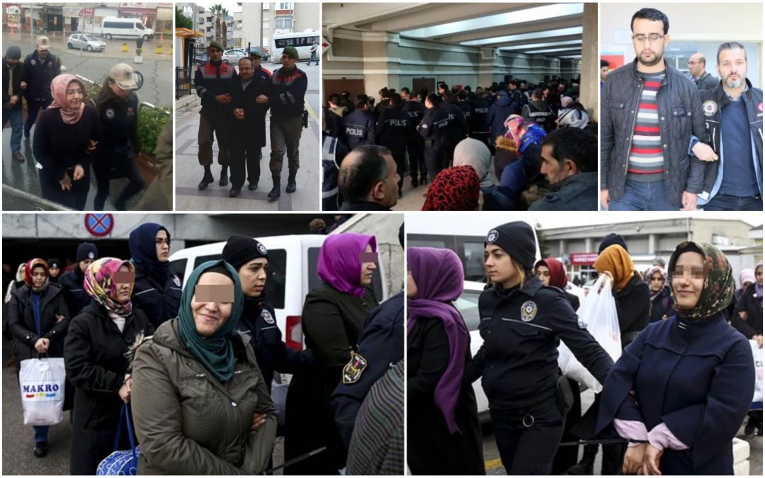 617 people detained over Gülen links in past week: ministry