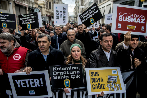 BIA report: 237 aggravated life sentences sought for 520 journalists in Turkey