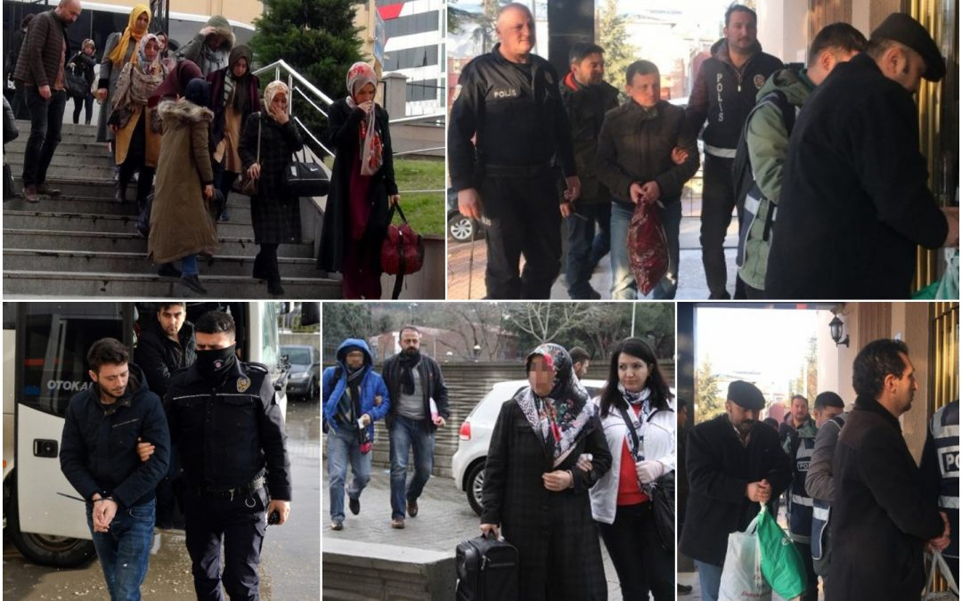 623 people detained over Gülen links in past week: ministry