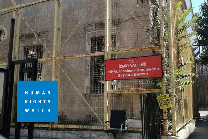 Human Rights Watch says Turkey's post-coup OHAL commissions not independent
