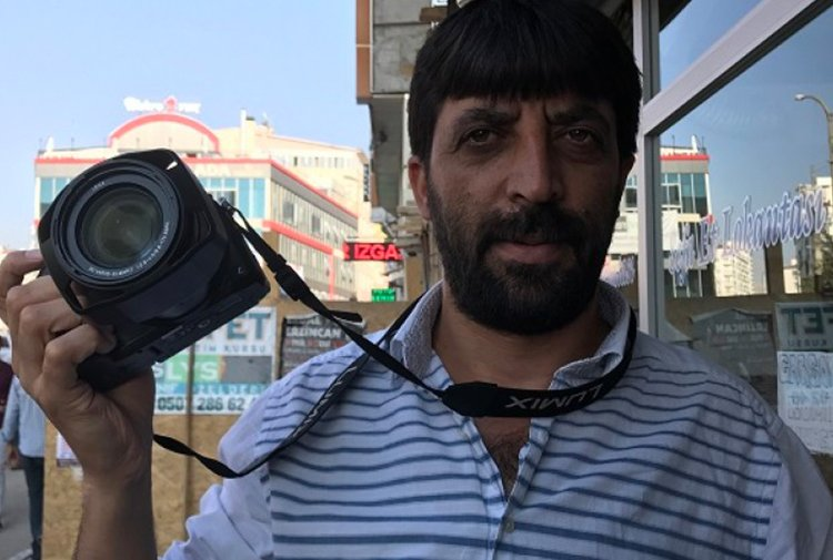 Journalist Oktay Candemir detained in eastern Turkey