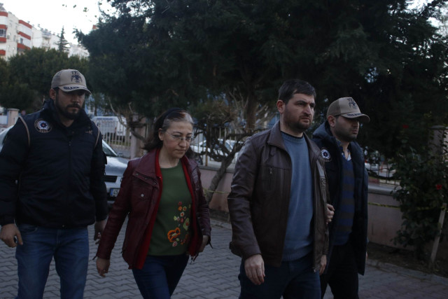 [VIDEO] Couple, dismissed as judge and prosecutor, detained over Gulen links