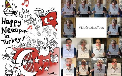 French writers, journalists 'adopt' Turkish colleagues in solidarity