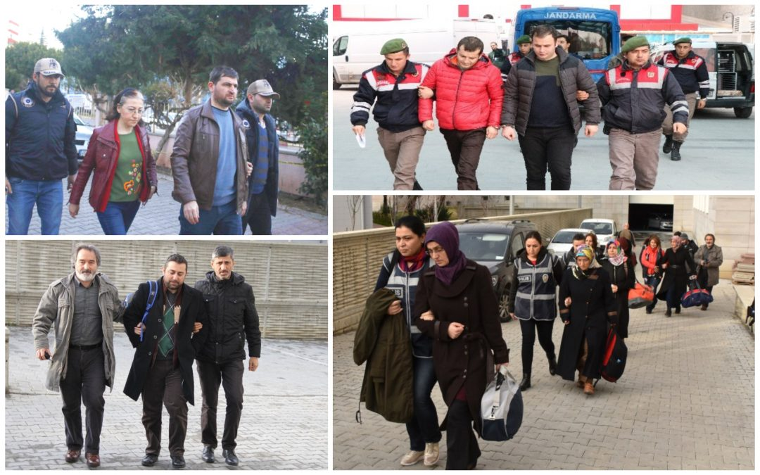 615 people detained over Gülen links in past week: ministry