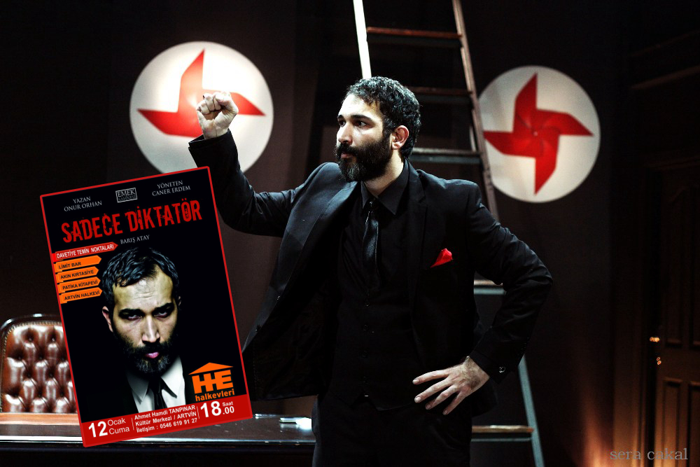 Theater play on dictatorship not allowed to be staged in Turkey's Artvin
