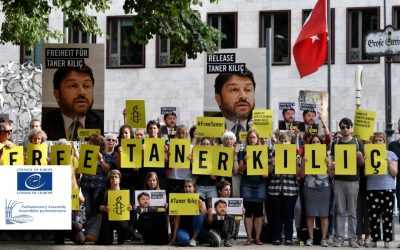 PACE urges release of Amnesty's Turkey chair ahead of Jan 31 hearing