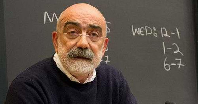Jailed writer Ahmet Altan fined TL 7,000 for insulting Erdogan
