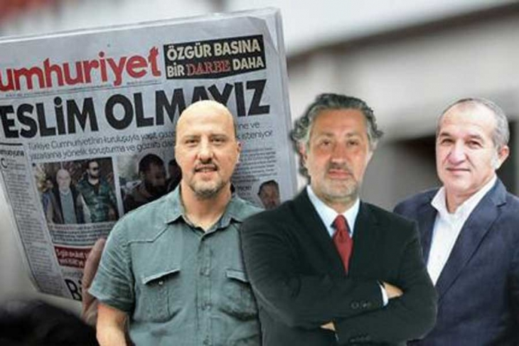 Journalists Ahmet Şık, Murat Sabuncu and Akın Atalay denied release from prison