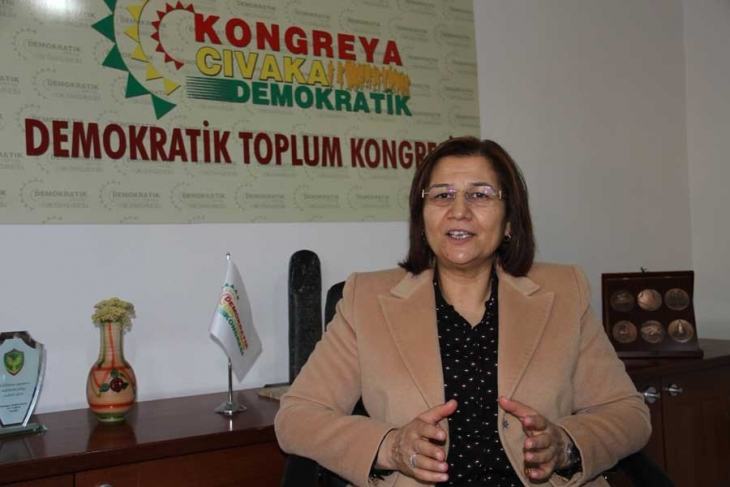 DTK co-chair sent to prison for criticizing Turkey's Afrin operation