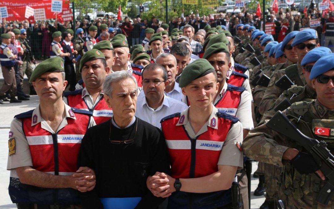 Turkey hands down prison sentences to 205 alleged coup plotters in Ankara: report