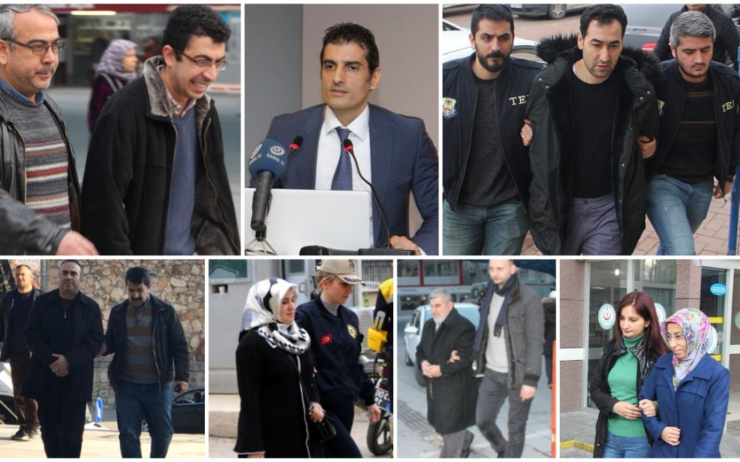646 people detained over Gülen links in past week: gov't