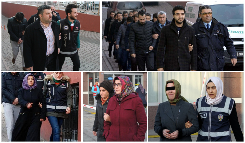 518 people detained over Gülen links in past week: gov't