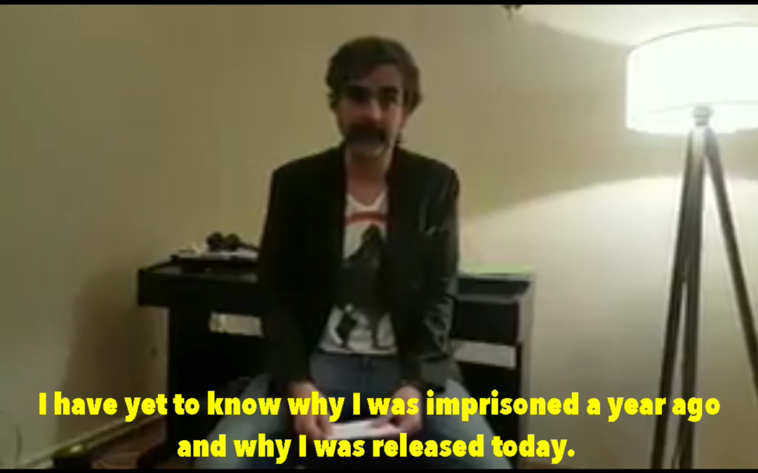 [VIDEO] Deniz Yücel says neither his jailing nor release in accordance with rule of law