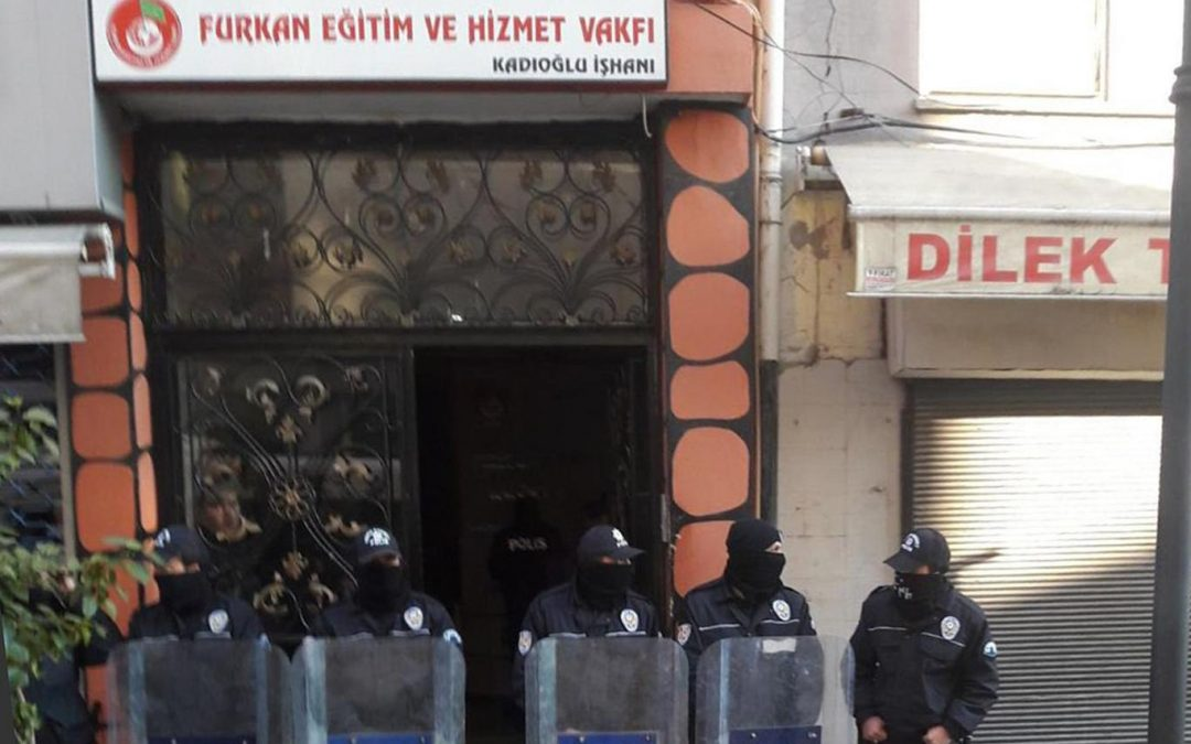 Gov't critic Furkan foundation closed after head, members detained