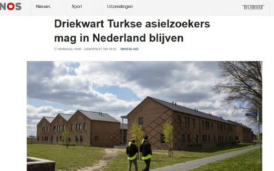 Netherlands accepts 73 percent of asylum applications from Turkish citizens: report