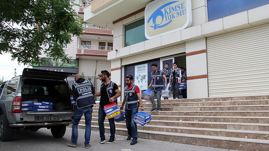 13 Kimse Yok Mu aid foundation personnel under police custody