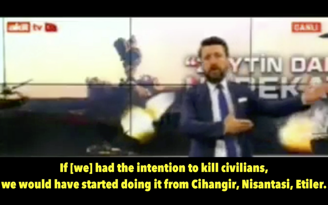 Pro-gov't TV anchor: If Turkish military were to kill civilians, it'd start with traitors in Istanbul, opposition