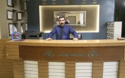 Teacher with 25 years of experience working as hotel receptionist after dismissal
