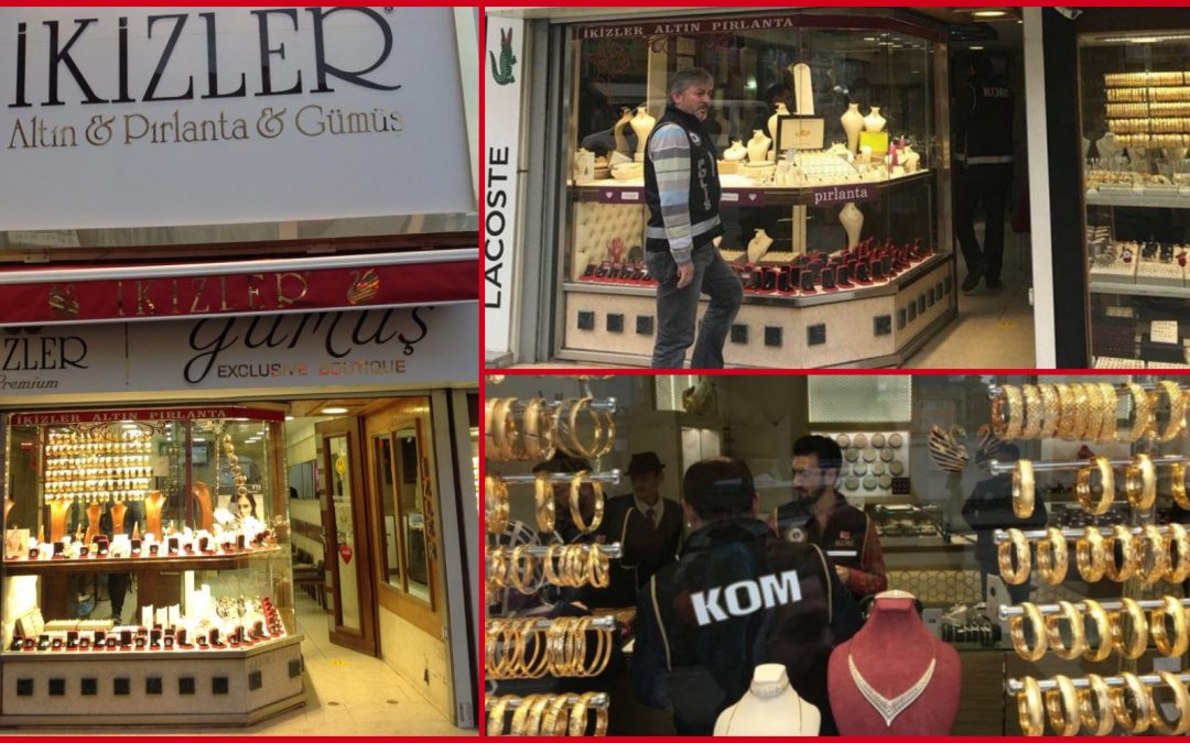 Jewelry store chain, another company in Istanbul seized over Gulen links