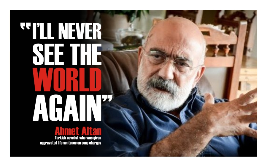 'I Will Never See the World Again,' writes imprisoned Ahmet Altan for the New York Times