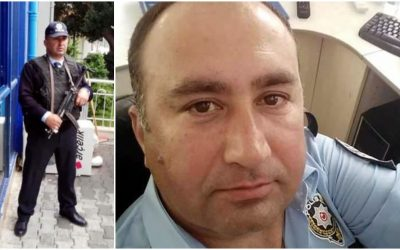 Police officer suspended in post-coup crackdown dies of heart attack