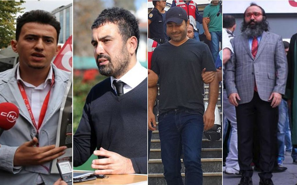 25 journalists, columnists given prison sentences of up to 7 years on terror charges
