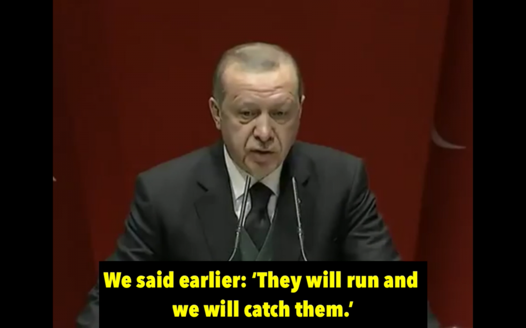 [VIDEO] Erdoğan praises Turkey's abduction of Gulenists in Kosovo, signals more to come