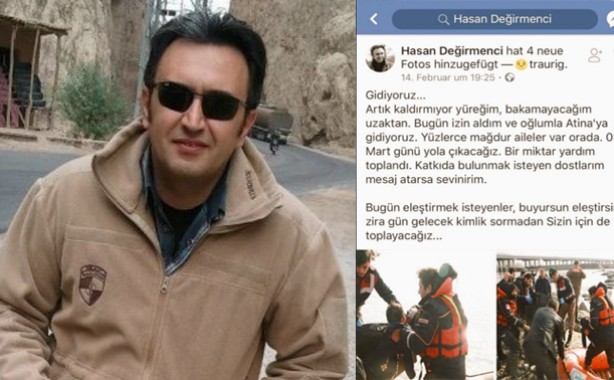 Man dies of cerebral hemorrhage while on way to help Turkish refugees in Greece