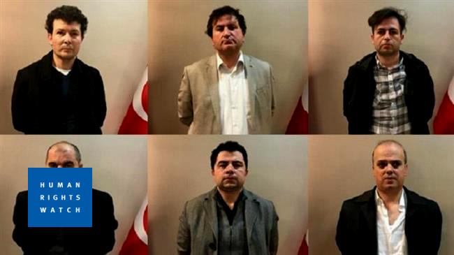 Human Rights Watch: Arrest of Turkish nationals in Kosovo a callous disregard for Human Rights