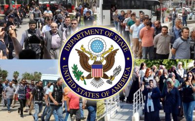 Turkey violates laws prohibiting arbitrary arrest, detention: US human rights report