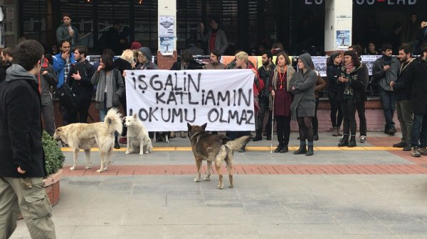 9 Bogaziçi students sent to prison for participating in protest against Turkey's Afrin operation