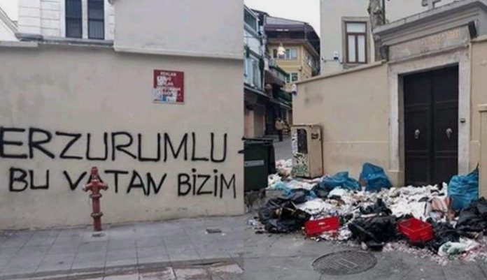 Nationalist mob attacks Armenian church in Istanbul