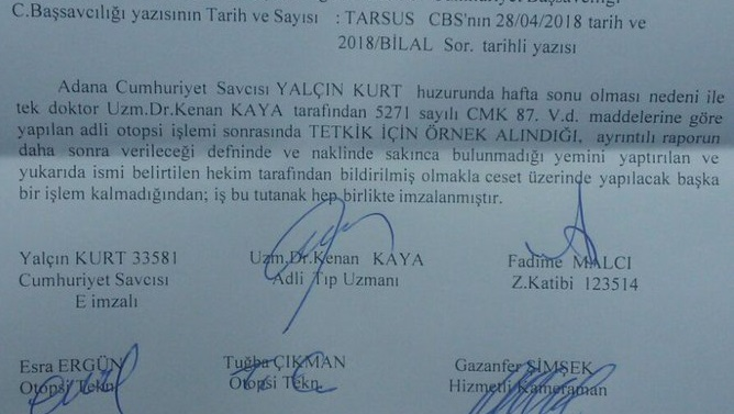 Autopsy report confirms: 32-year-old woman with SLE dies in Mersin prison
