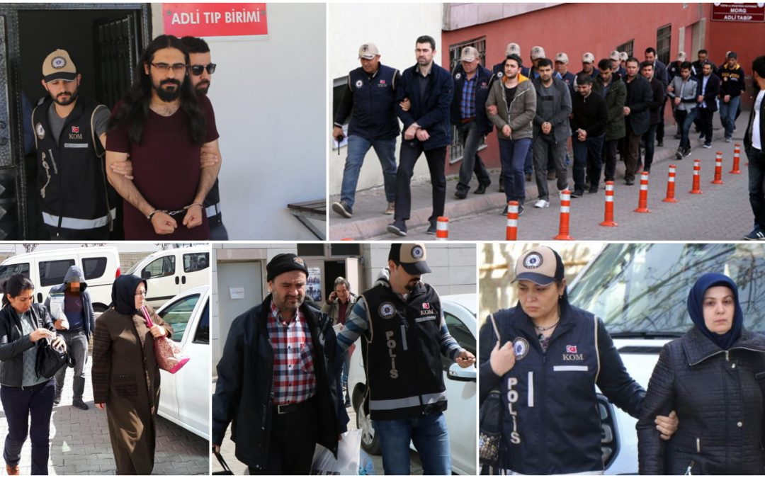 532 people detained over Gulen links in past week: gov't