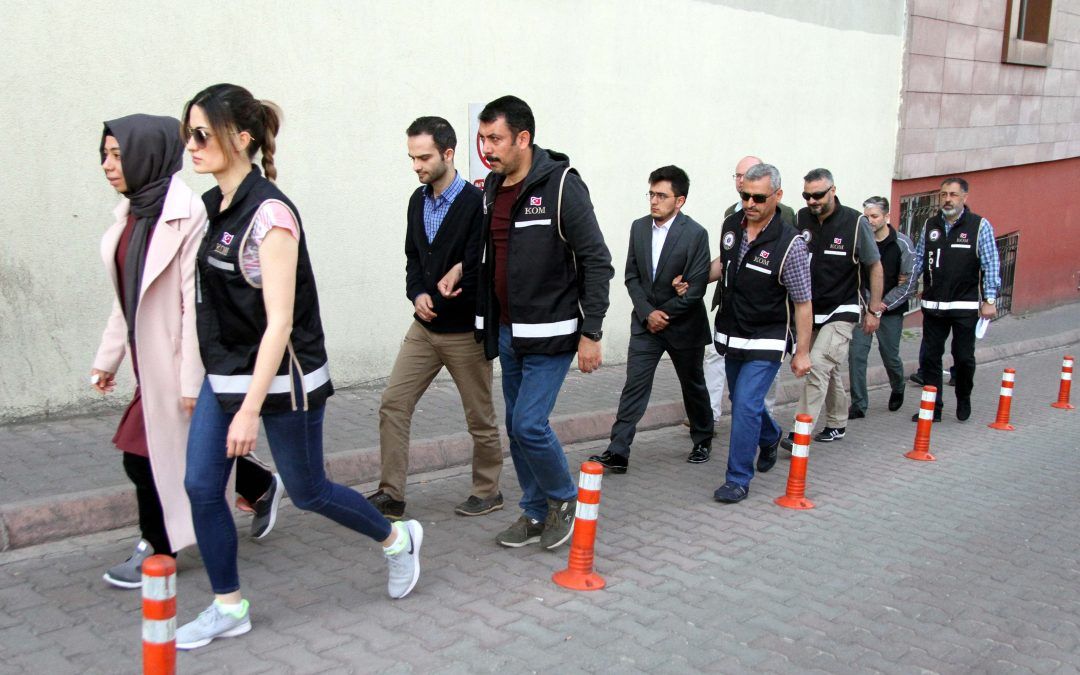 [VIDEO] 5 detained over ByLock use in Turkey's Kayseri