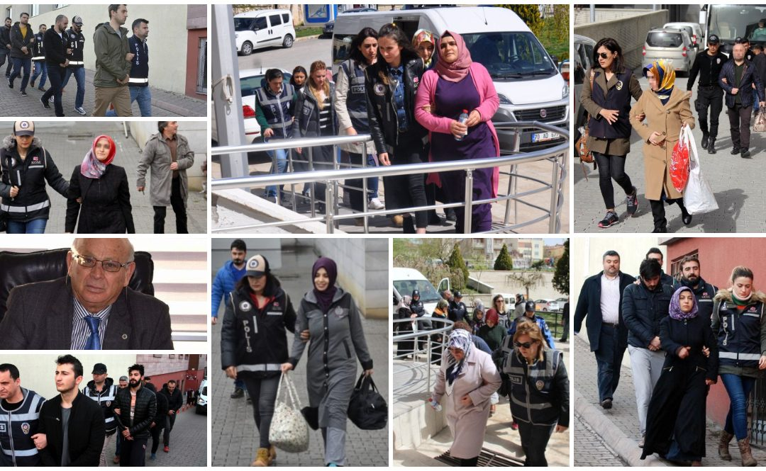 Data: Turkish gov't detained as many as 853 people over Gulen links in past week