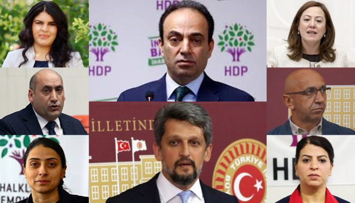 8 pro-Kurdish deputies under investigation over 'terror propaganda'
